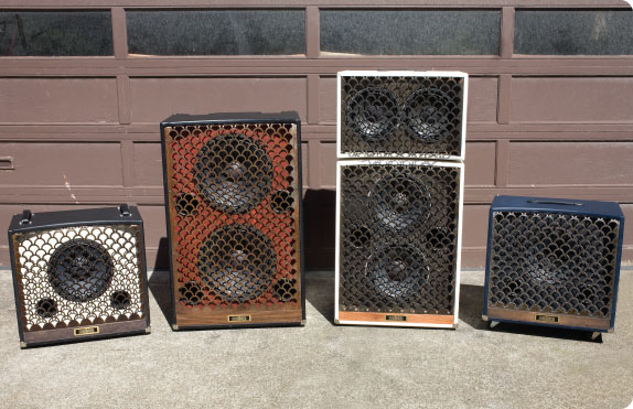 Roller Sound Custom Guitar & Bass Cabinets